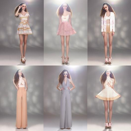 Milin Fashion Designer Bangkok Thailand 2011