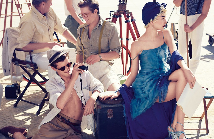 Desert Jazz - Vogue Turkey March 2012, gilded age style, 20's fashion, flapper style, flapper fashion, roaring 20s fashion. Prohibition, fashion
